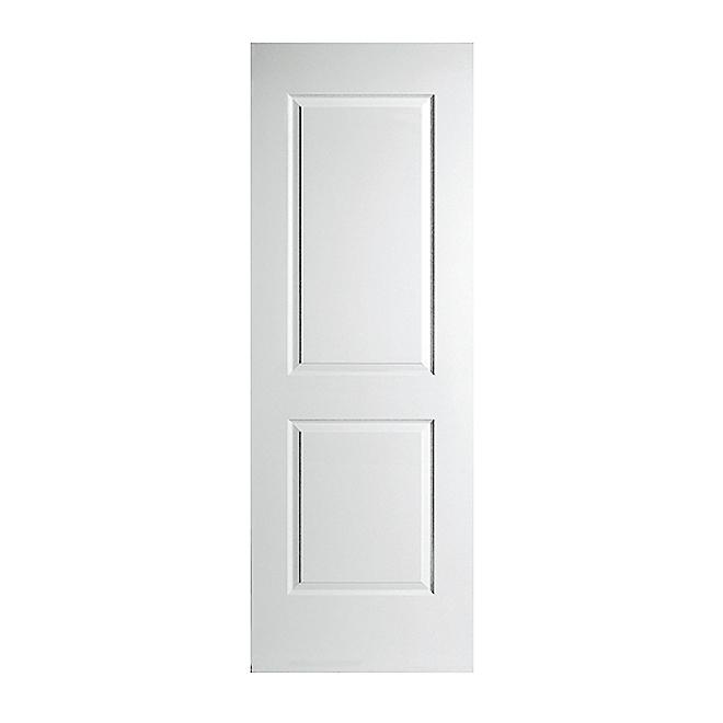 Smooth 2-Panel Interior Door