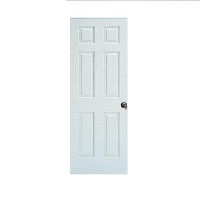 METRIE Porte à 6 panneaux «Safe and Sound» D6PT00001C8030 | Réno-Dépôt