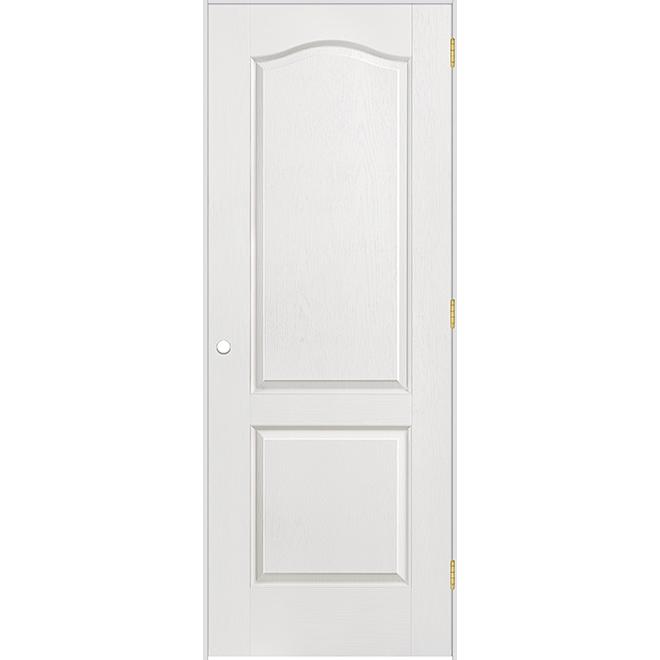 Porte prémontée à 2 panneaux