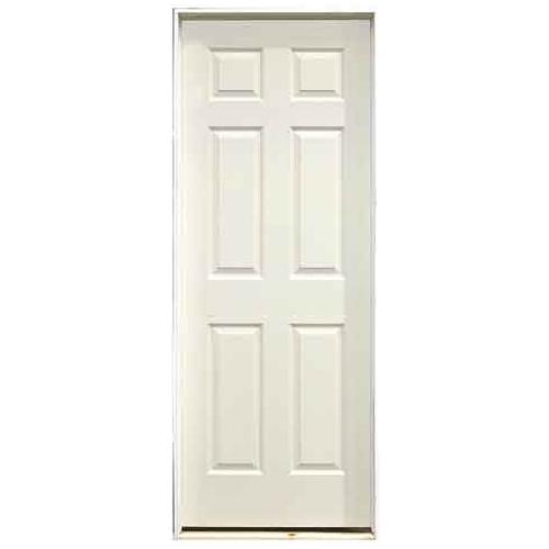 """6-Panel Pre-Hung Interior Door 36"""" x 80"""" - Left"""