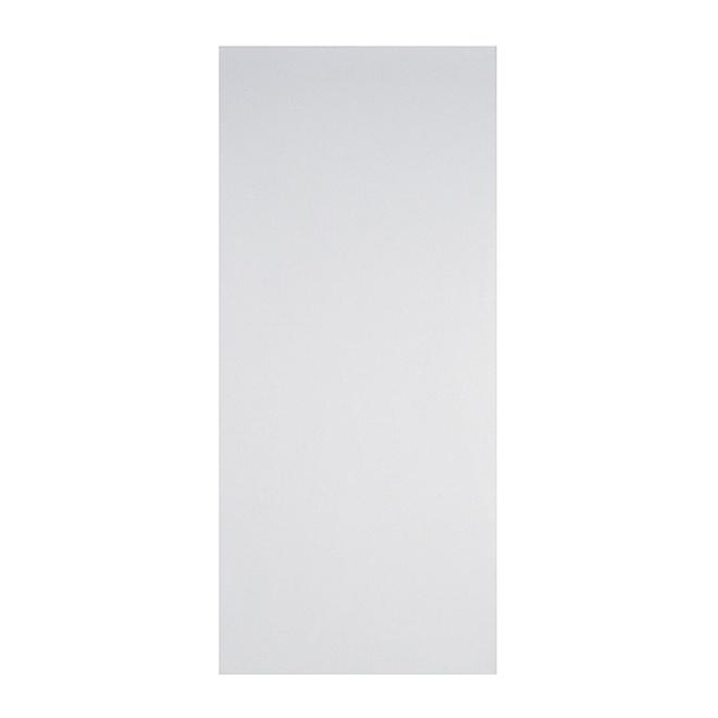 Porte en fibre durcie, 36'' x 80'', blanc