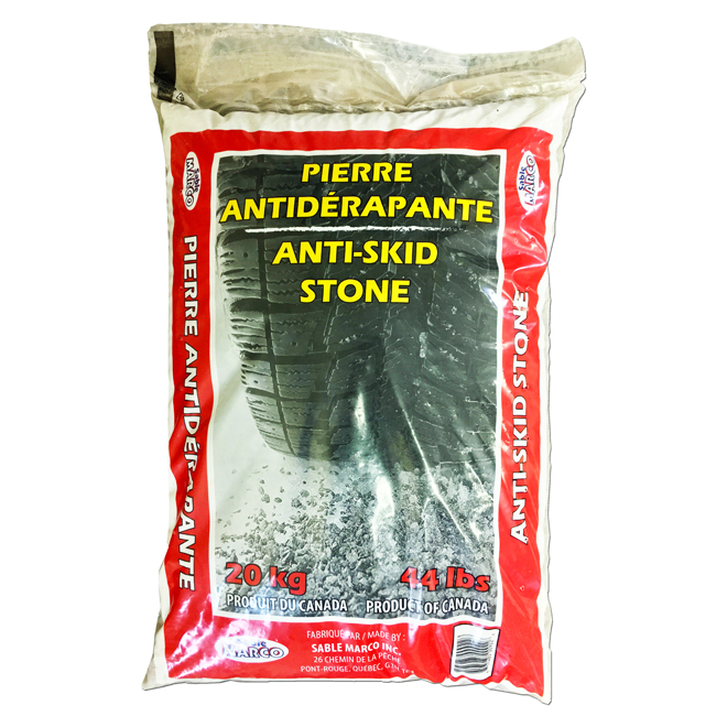 Pierre antidérapantes, 20 kg