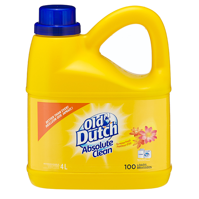 Laundry Detergent - Summer Fresh - 4 L