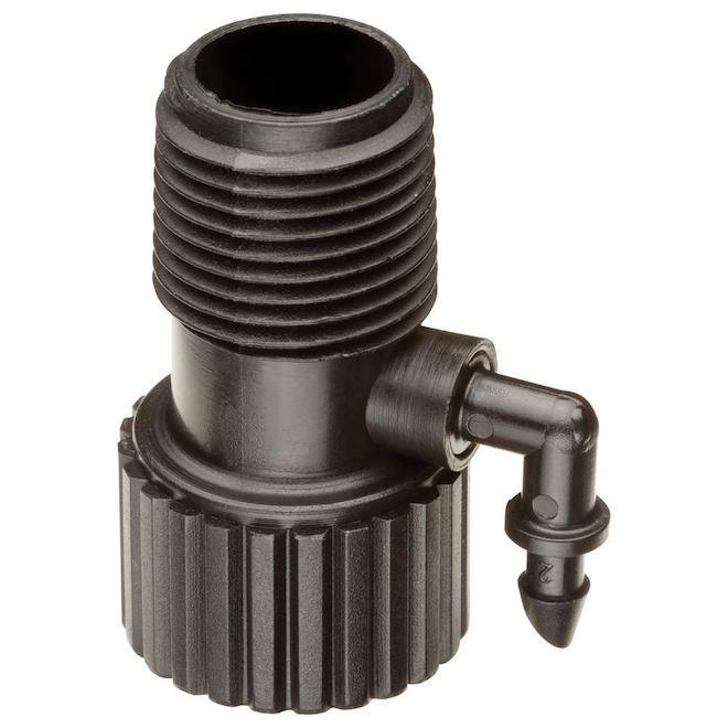 Adaptateur de colonne montante Rain Bird pour irrigation goutte à goutte, 0,5 po