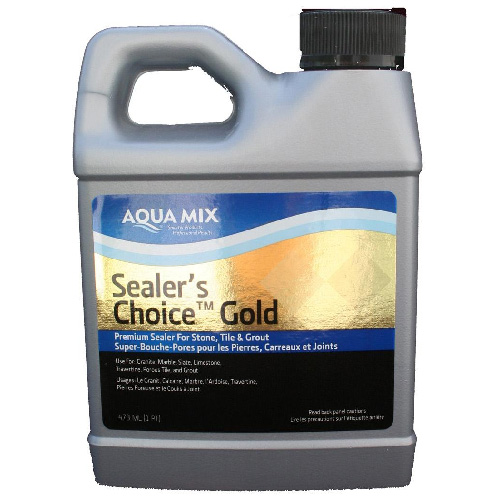 Super bouche-pores Sealer's Choice Gold d'Aqua Mix, sans-reflets, à base d'eau, résistant aux tâches, 473 ml