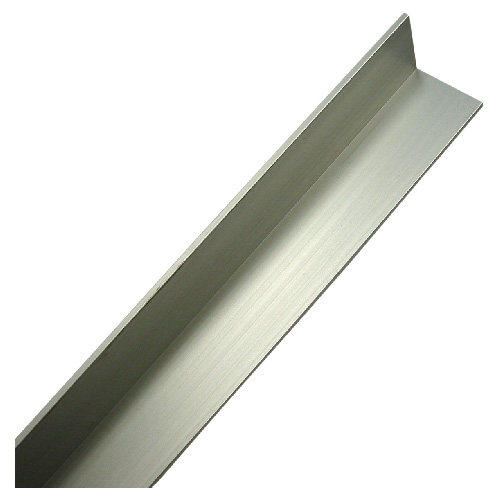 "36"" Angle Bar - 3/4"" x 1/2"" x 1/16"" - Anodized Aluminum"