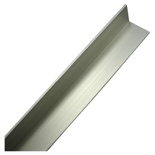 "Angle Bar - 11/2"" x 48"" x 1/8"" - Anodized Aluminum"