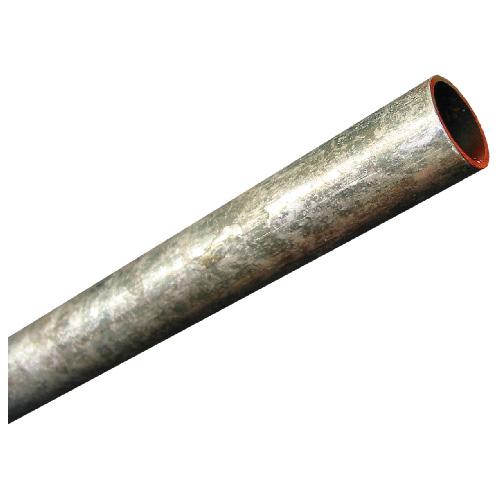 """Tube cylindrique non fileté, 41/64"""" X 1"""" X 48"""", acier"""