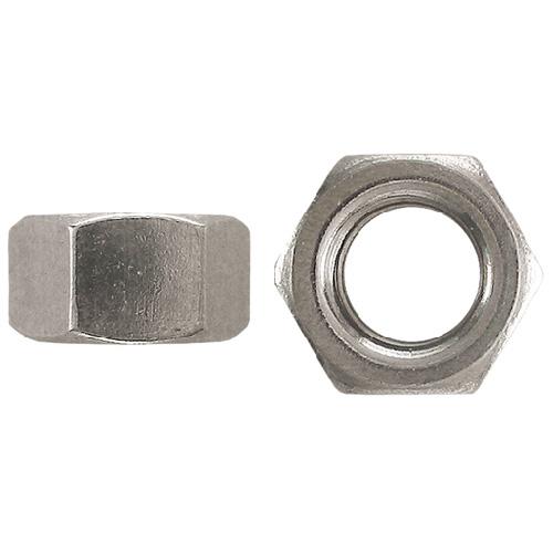 Écrous hexagonaux standard de Precision, 1/4 po de diamètre, 20 pas, calibre 5, boîte de 50