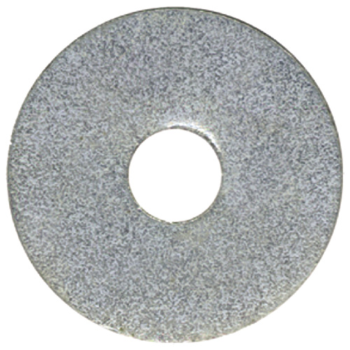 Rondelles de protection en acier Precision, acier galvanisé, boîte de 50, 3/16 po diamètre