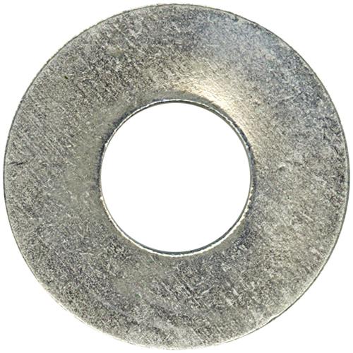 """Flat Washers - Steel - 3/4"""" - Box of 11 - Zinc Finish"""