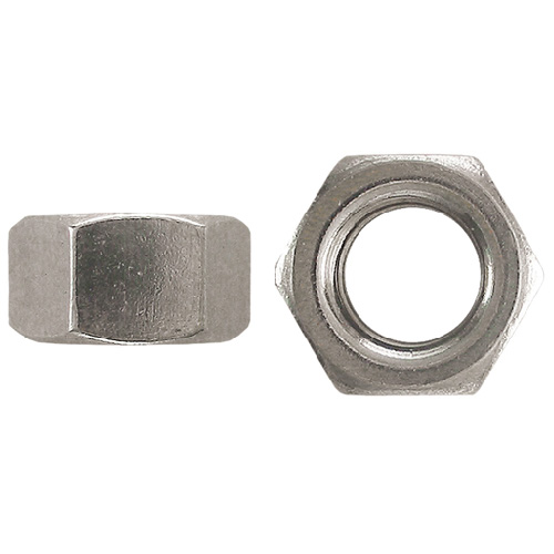 Écrous hexagonaux standard de Precision, 3/8 po de diamètre, 16 pas, calibre 5, boîte de 50