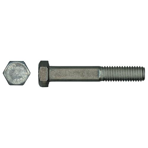 Boulons en acier inoxydable à tête hexagonale de Precision, 1/4 po x 2 po, filet de 20 pas par pouce, 25/pqt