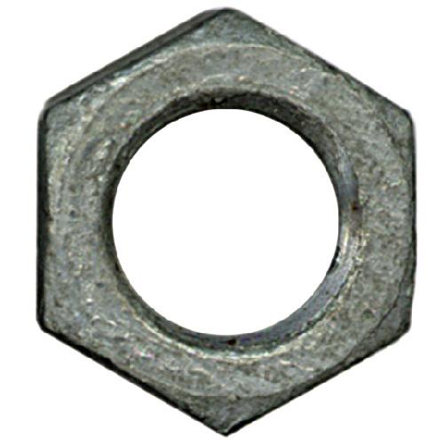 Écrous hexagonaux surdimensionnés en acier galvanisé à chaud Precision, 3/8 po diamètre, 16 pas, calibre 2, boîte de 50