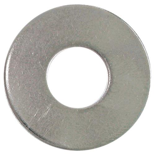 Rondelle plate Precision, diamètre no 10, acier inoxydable, paquet de 50