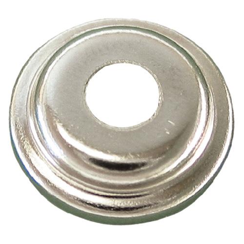 Capuchons bouton-pression Precision, acier, nickelé, 3/8 po de diamètre, paquet de 25