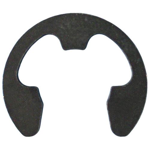 Bagues de retenue Precision, noire, acier, boîte de 12, 1/2 po diamètre