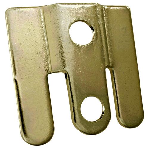 "Steel Shelf Bracket - 1"" x 1"" - Zinc - 10-Pack"