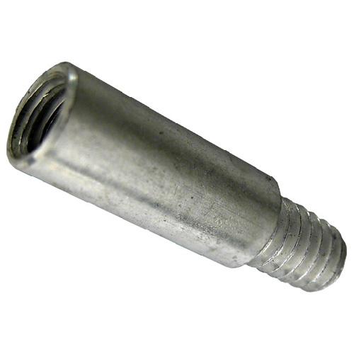 Extension pour vis de reliure mécaniques Precision, filetage normal, aluminium, 100 par paquet, 1 po L.