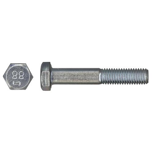 Boulons métriques à tête hexagonale Precision, M12 x 45 mm, calibre 5, 25 par paquet, zingués, acier ordinaire