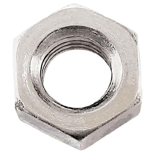 Écrou hexagonal métrique galvanisé extrafin de Precision, M8 x 1 pas, classe 8, boîte de 16