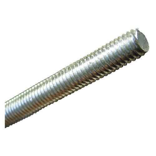 """Tige cylindrique filetée, 3/8""""-16 x 72"""", acier zingué"""