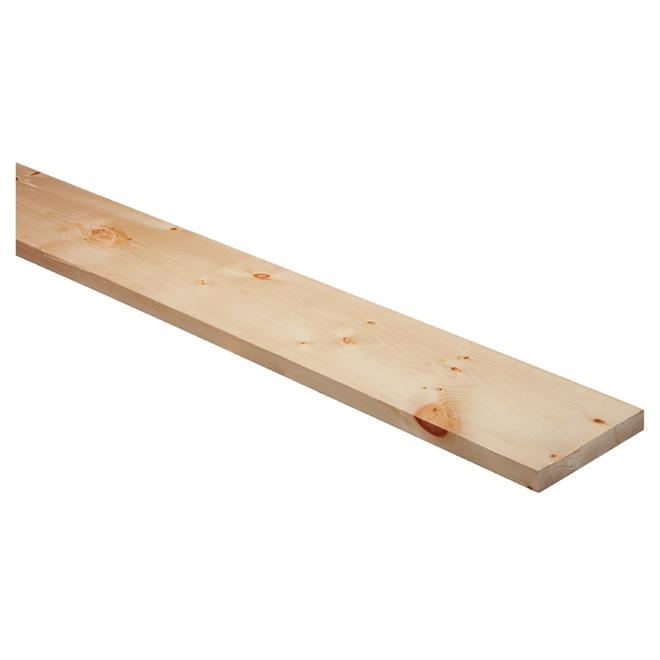 planche de pin blanc 2 po x 10 po x 6 pi 590103806 r no d p t. Black Bedroom Furniture Sets. Home Design Ideas