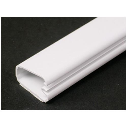 """Wiremold(R) Plastic Wire Cover - 60"""" - White"""