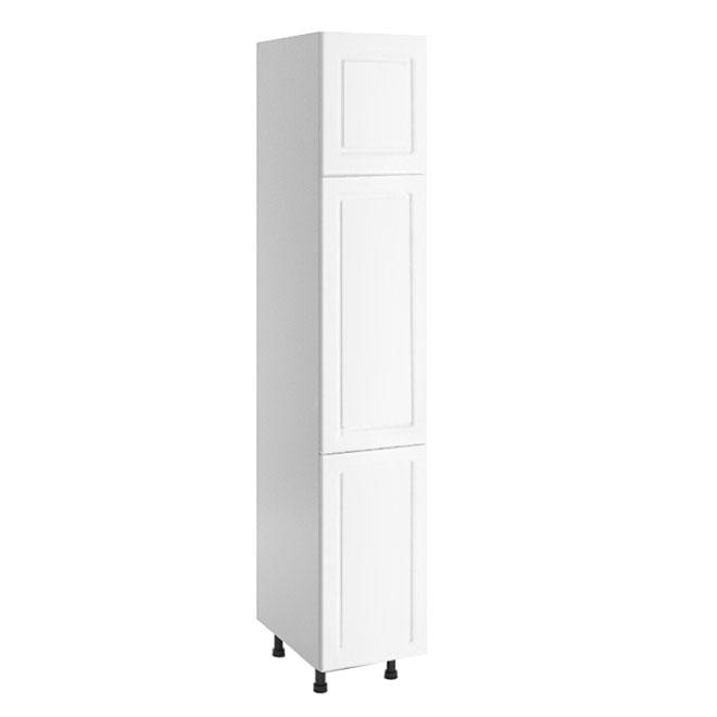 Linen Cabinet - 3 Doors - 12'' x 83'' x 21'' - White