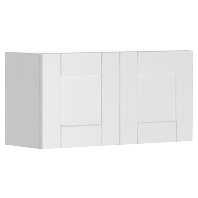 """Armoire de cuisine à 2 portes, 30"""" x 15"""", blanc"""