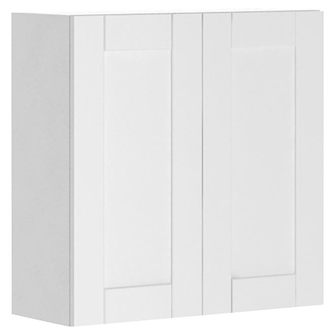 """""""Urban Chic"""" 2-Door Kitchen Cabinet - White"""