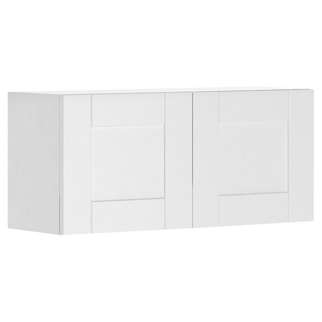 """Armoire de cuisine à 2 portes, 33"""" x 15"""", blanc"""