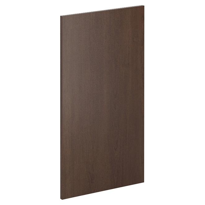 """Panneau pour armoire murale, Caravelle, 13"""" x 33"""", chocolat"""