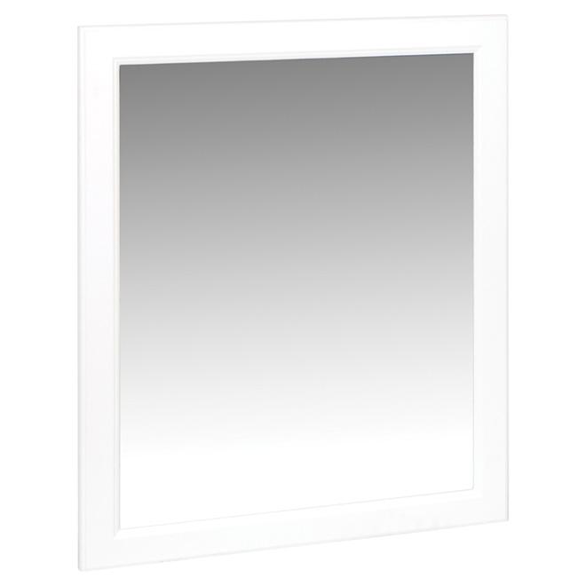 "Miroir de meuble-lavabo, 31"" x 24"", blanc"