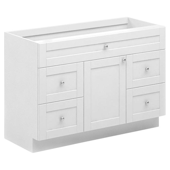Vanity - 1 Door/4 Drawers - 48\