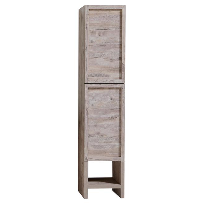 "Countryside Linen Cabinet - 2 Doors/7 Shelves - 75"" - Wood Color"