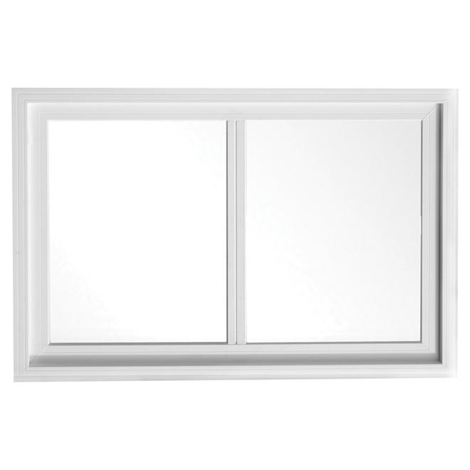 Cadre de fenêtre «North Vision» 48 x 23 po