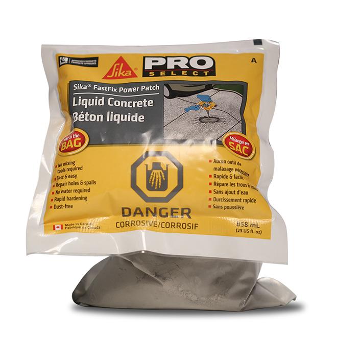 Liquid Premixed Concrete - 858 ml - Grey