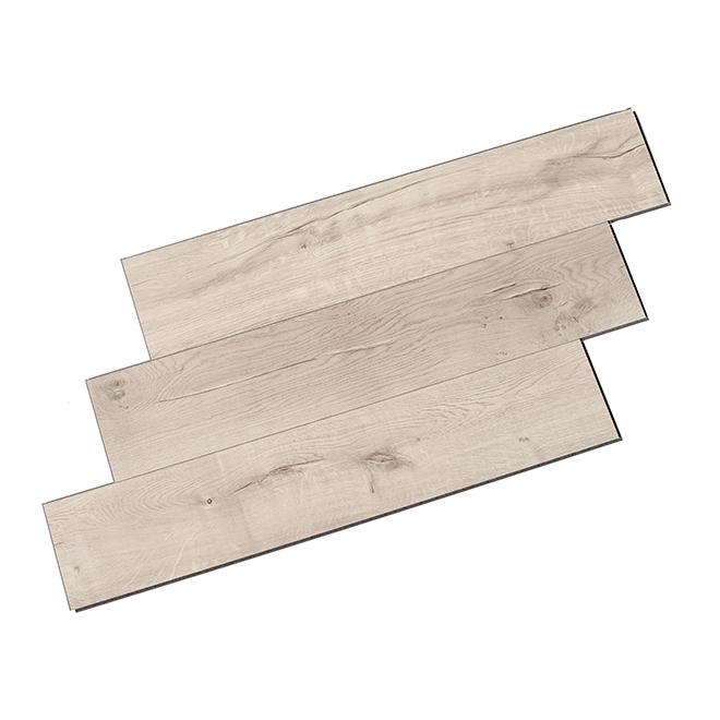 Plancher en vinyle, nickel, 7 mm, 21,25 pi², boîte de 12