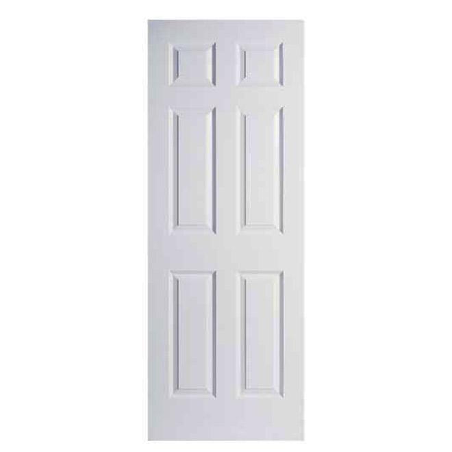 6-Panel Textured Door
