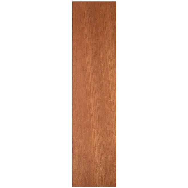 Metrie Lauan Door Slab - 18-in W x 80-in H - Hollow Core - Mahogany Finish