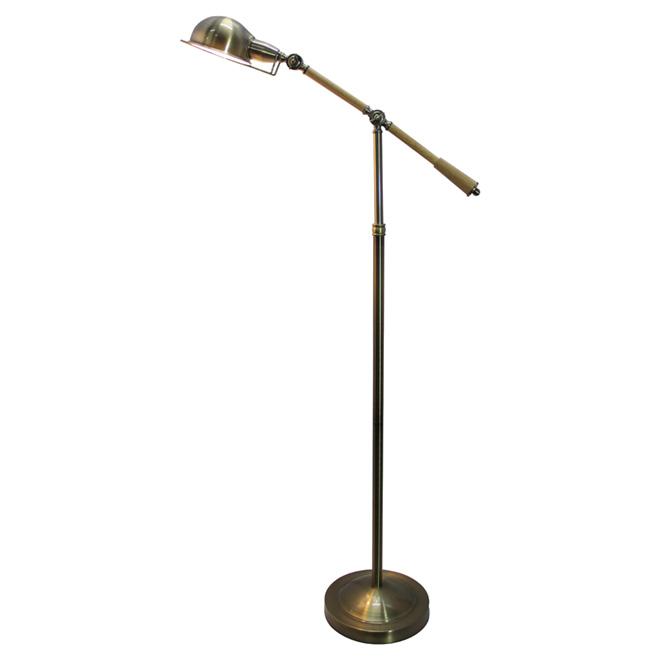 """Lampe sur pied ajustable 64,6"""", bronze"""