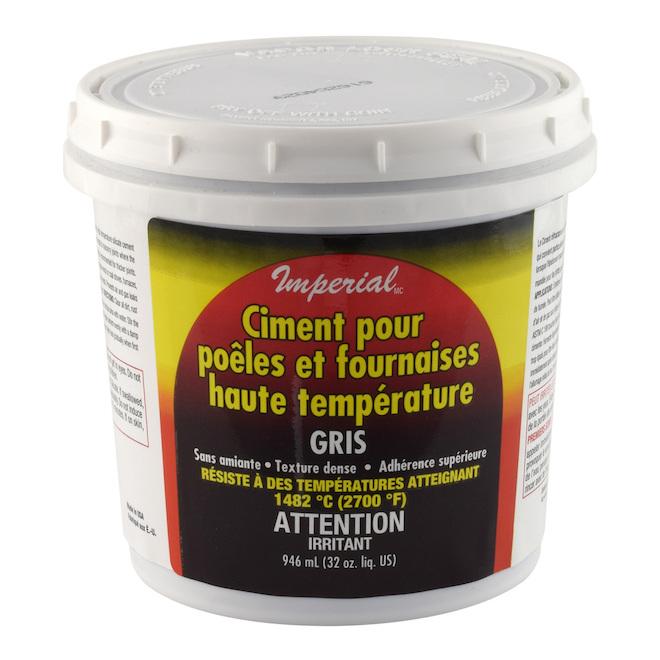 Ciment haute température 946 ml