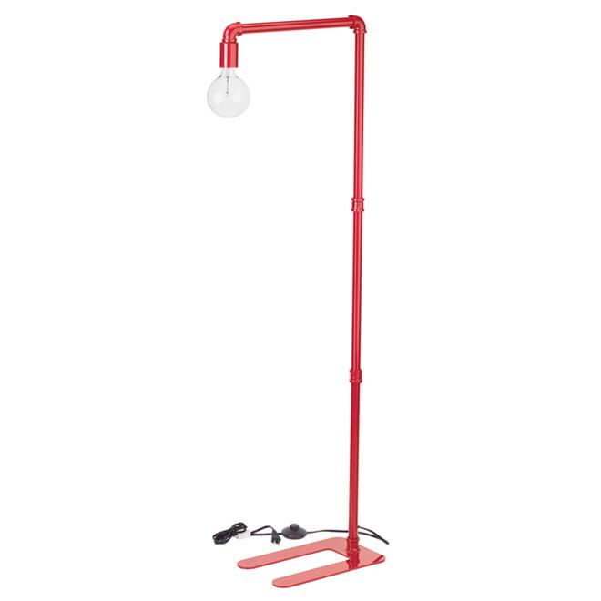 "Floor Lamp 55"" - Pipeline - Red"