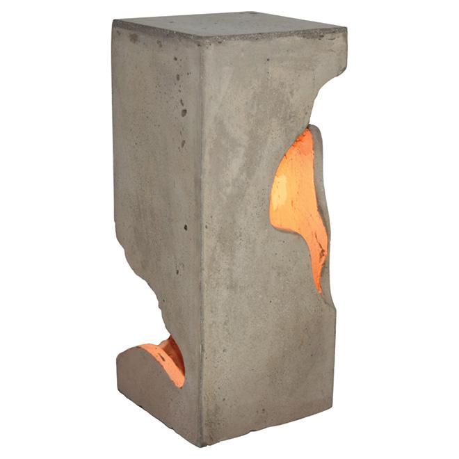 """Betomax"" Concrete Bedside Lamp"