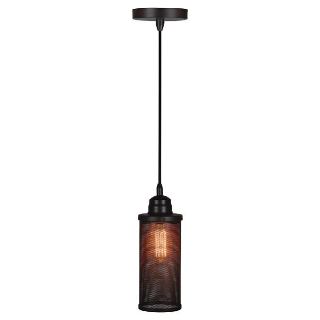 "Tracia 1-Light Pendant Light - 52.3"" - Matte Bronze"