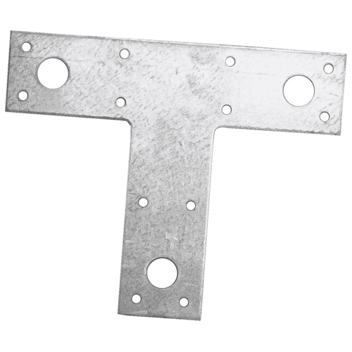 "Galvanized Steel T Strap 1 1/2"" x 5"" x 6"" - Box of 20"