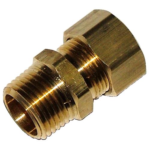 Male brass fitting