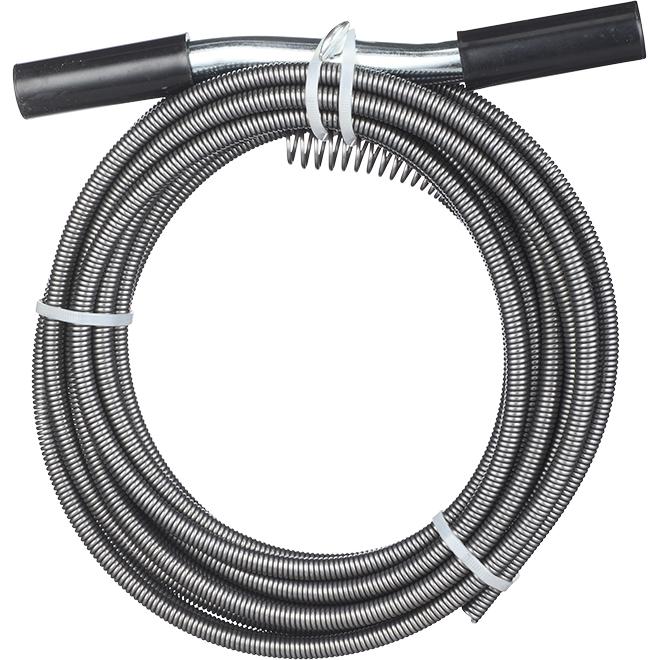 Steel Auger Drain - 3/8'' x 25'