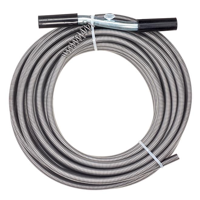 Steel Auger Drain - 1/2'' x 50'